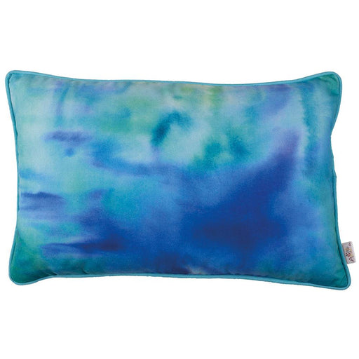 Marine Rectangle Blue Printed Decorative Throw Pillow Cover Home Decor 12''x 20''