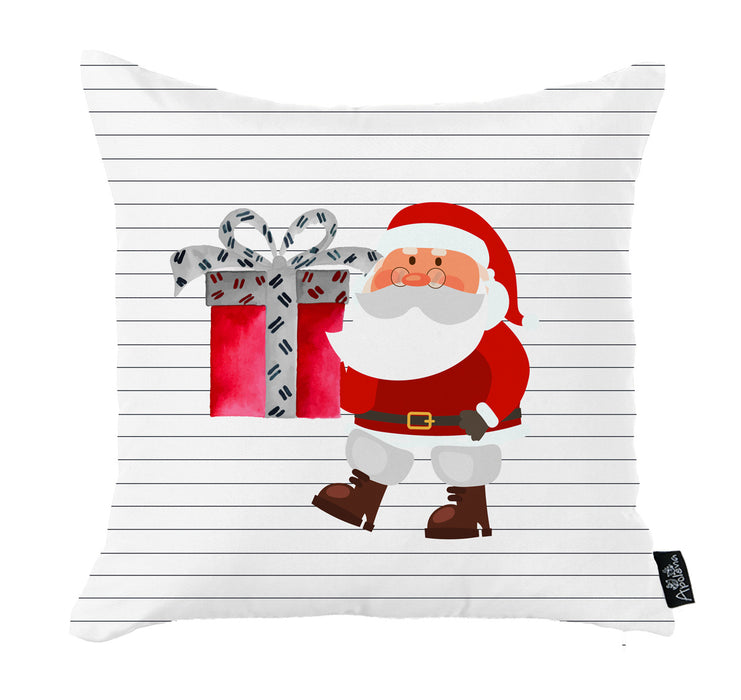 "Merry Christmas Set of 4 Throw Pillow Covers Christmas Gift 18""x18"""