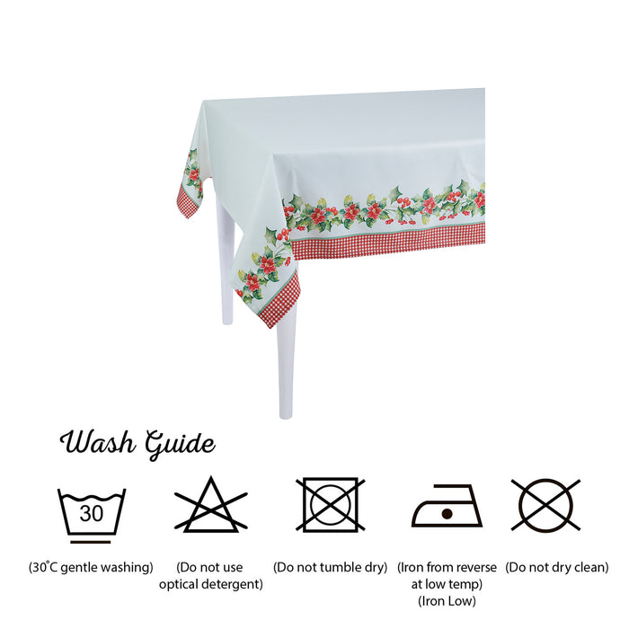 Merry Christmas Printed Decorative Tablecloth