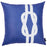Nautica Knot Decorative Throw Pillow Cover Printed Home Decor 18''x18''
