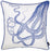 "Nautica Octopus  Decorative Throw Pillow Cover Home Decor 18""x18"""