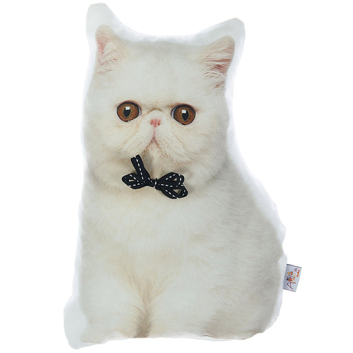 Animal Shaped Pillow, Filled Pillow with Persian Cat Shape