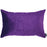 Velvet Purple Decorative Throw Pillow Cover Home Decor 14''x 21''