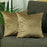 Velvet Tortilla Brown Decorative Throw Pillow Cover Set (2 Pcs in set)