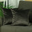 Velvet Carob Brown Decorative Throw Pillow Cover (2 Pcs in set)