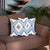 Ikat Decorative Throw Pillow Cover Set 18''x18'' (2 pcs in set) Home Decor