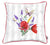 Spring Square  Flowers  Printed Decorative Throw Pillow Cover Home Decor Pillowcase 18''x 18""
