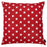 "Easy Care Red White Stars Decorative Throw Pillow Cover Home Decor 20""x20"""
