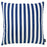 "Easy Care Blue Stripes Decorative Throw Pillow Cover Home Decor 20""x20"""