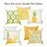 Tropical Pinapple  Printed Decorative Throw Pillow Cover Home Decor 18''x 18''