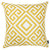 Tropical Yellow Greek Printed Decorative Throw Pillow Cover Home Decor Pillowcase 18''x 18''