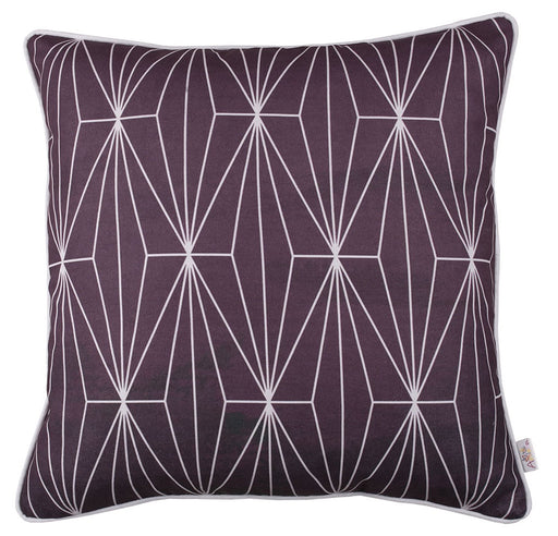 Flower Square Shadows  Printed Decorative Throw Pillow Cover Home Decor 18''x 18""