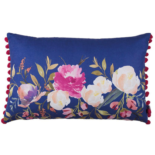 Flower Rectangle Vase Printed Decorative Throw Pillow Cover Home Decor 12''x 20""