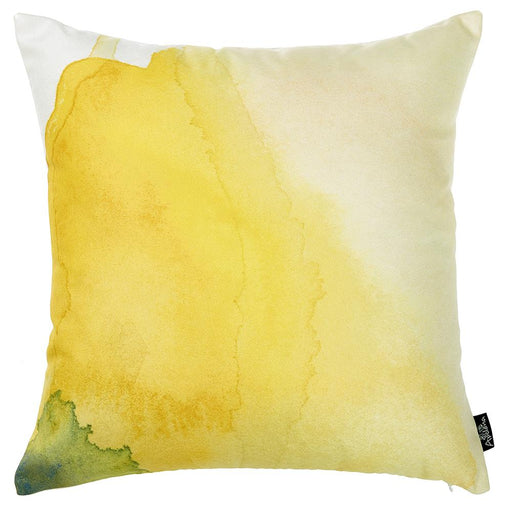Watercolor Sunrise Dream  Printed Decorative Throw Pillow Cover Home Decor 18''x 18''