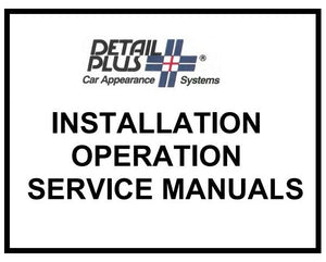 Auto Detailing Product Manuals Available by Request