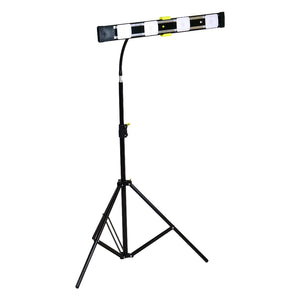 Agilux 3300 Lumen Portable LED Work Light/Stand Light With Gooseneck – 24″ Black