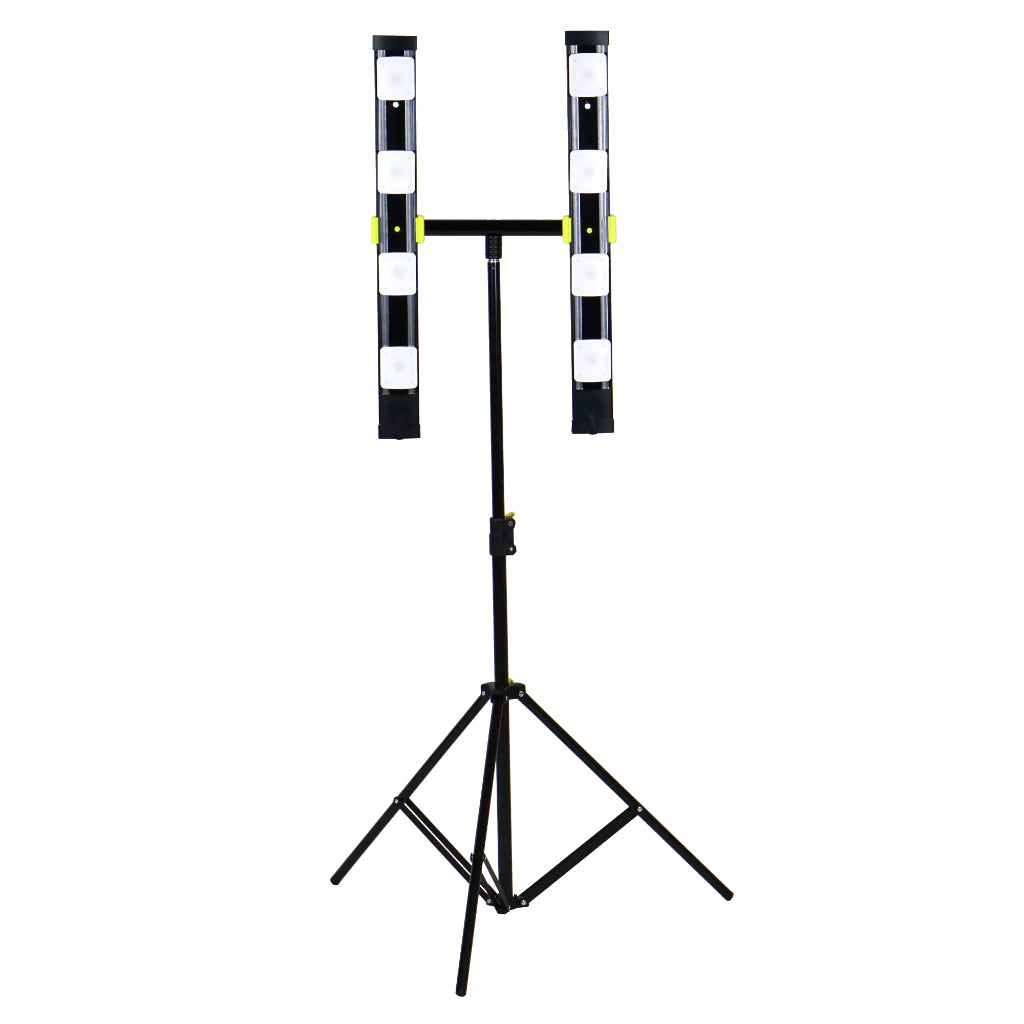 Agilux 7200 Lumen Portable LED Work Light/Stand Light – 24″ Black