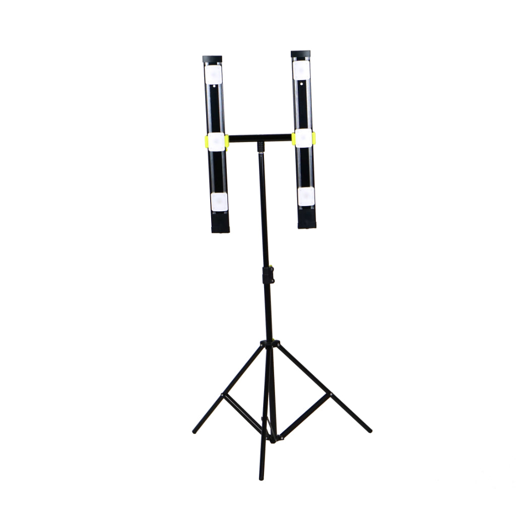 Agilux 5100 Lumen Portable LED Work Light/Stand Light – 24″ Black