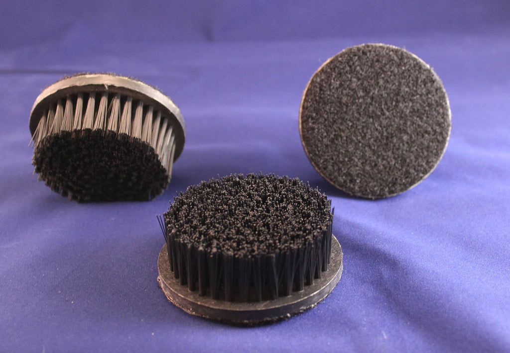 Rotary Shampoo Brushes, 3 inch