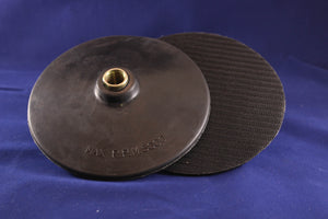 6in Hook & Loop Backer Pad For Rotary Tool 5-8
