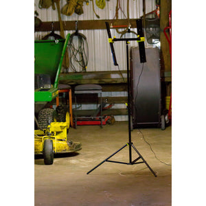 Agilux 5400 Lumen Portable LED Work Light/Stand Light – 24″ Black