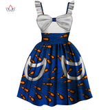 African kids dashiki Traditional cotton Dresses, Matching African Print dresses for Children 1