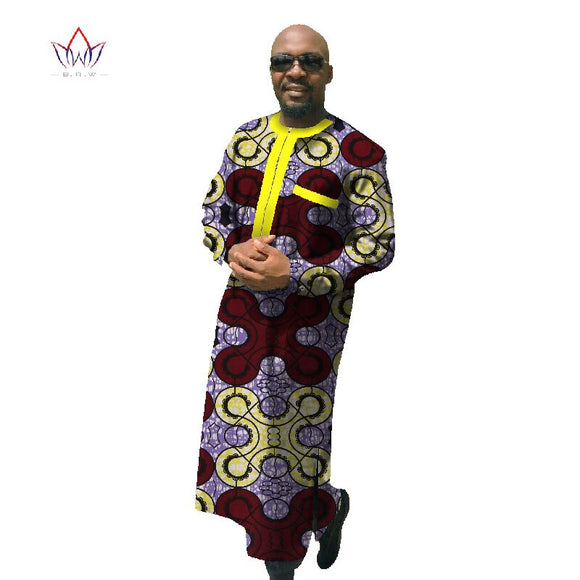 African Print Dashiki for Men,  African Clothing Long Sleeve Robe Dashiki, African Traditional Clothing