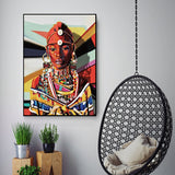 African Women Canvas Wall Art Decor Painting Ancient Posters And Prints