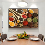 Kitchen Condiment Wall Posters And Prints Kitchen Theme Art Paintings For Kitchen