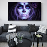 Day of the dead Posters and HD Prints Wall Art Canvas for Living Room