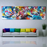 Wall Art Oil Paintings Abstract Picture Home Decor Canvas Print For Living Room Modern No Frame