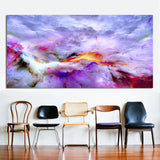 Wall Art Pictures For Living Room Home Decor Abstract Unreal Clouds Canvas Oil Painting Printed No Frame