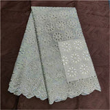 African Swiss dry voile lace African brocade lace cotton dry lace 5yards/lot