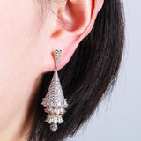 Women's Earrings Cubic Zircon Ear Jewelry