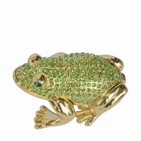Frog jewelry boxes Collectible metal trinket box metal Ornaments Home decoration Gifts