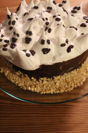 Ghoulish S'mores Cake
