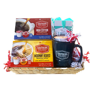 Southern Coffee Single Serve Gift Basket