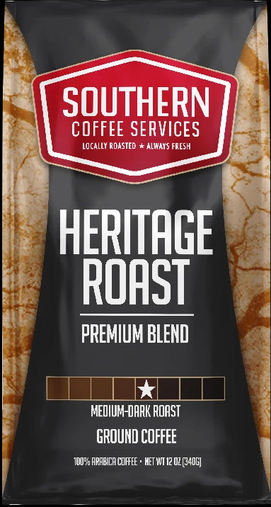 Heritage Roast coffee 12oz bag