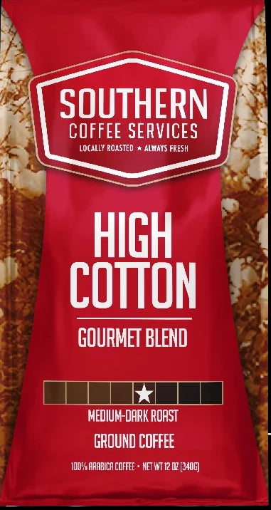 High Cotton Roast coffee 12oz bag