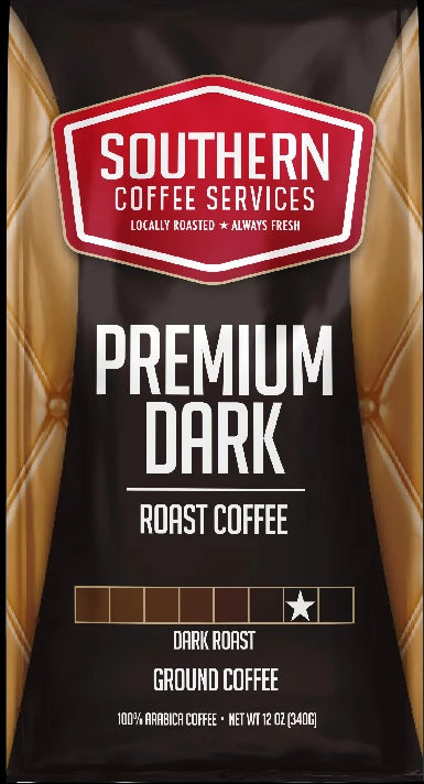 Premium Dark Roast Coffee 12oz bag