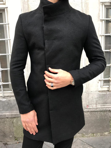Contemporary Black Coat