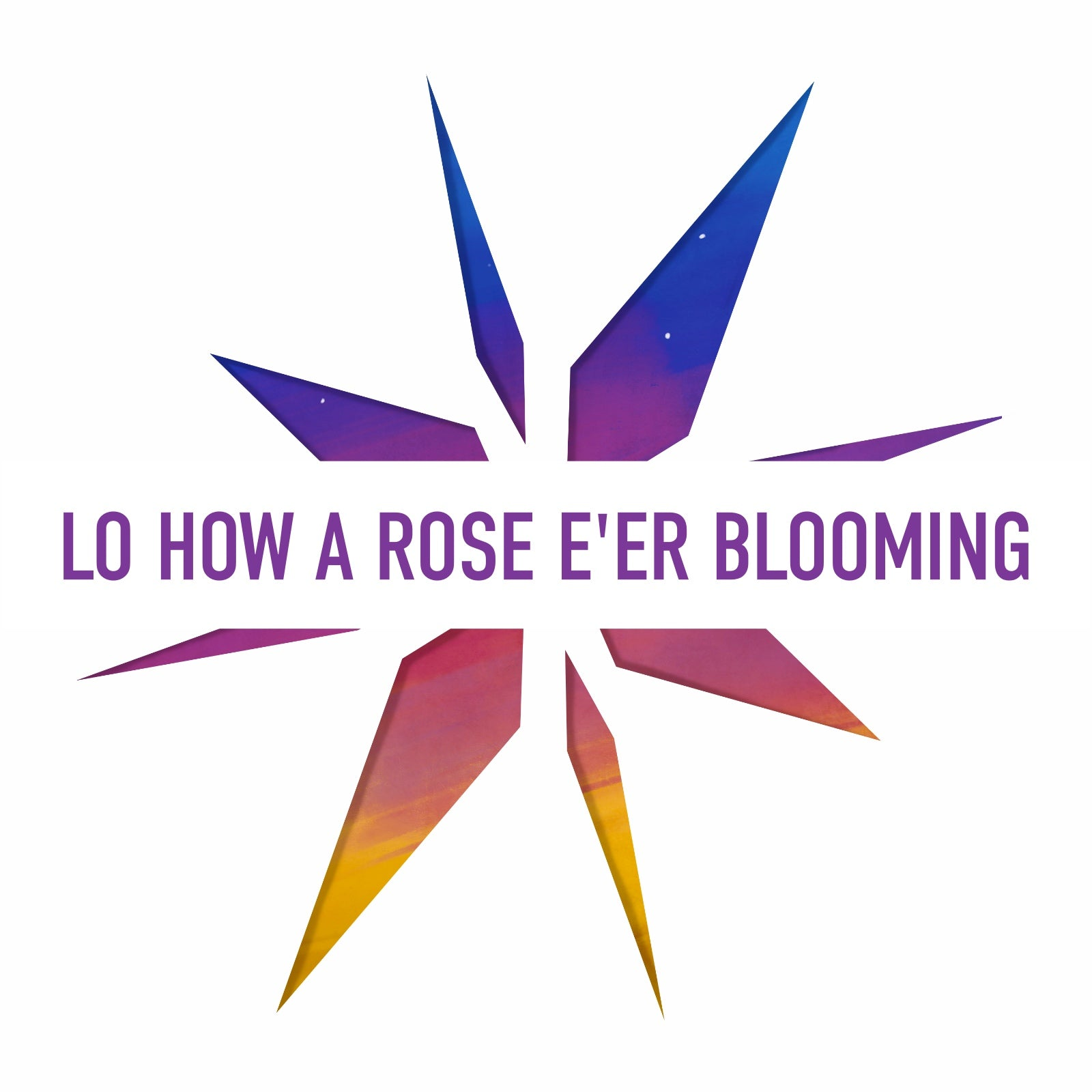 Lo How A Rose E'er Blooming (backing track)