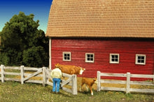 Load image into Gallery viewer, Monroe Models HO Scale Scenery Kit - Barn Yard Fence