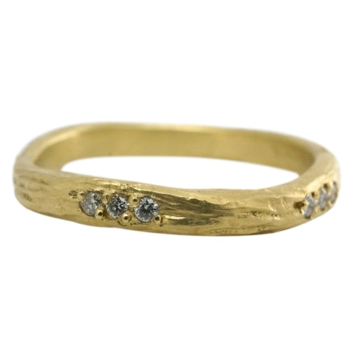 Eucalyptus Diamond Band