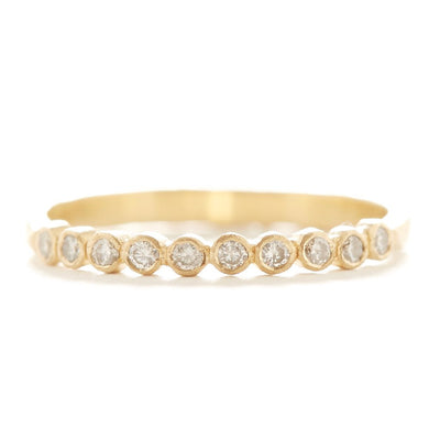 Hern Ten Dot Diamond Ring + size 7