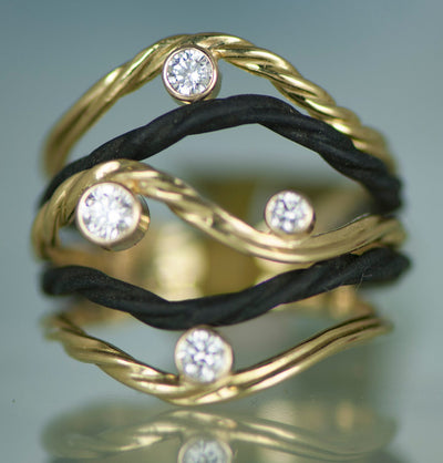 Clover 5 wire Ring