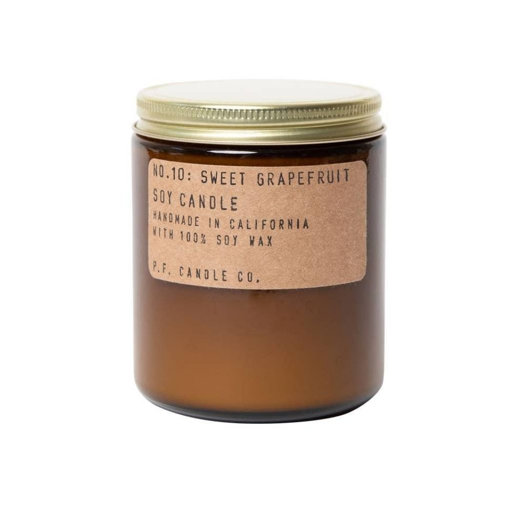 Sweet Grapefruit + Soy Candle