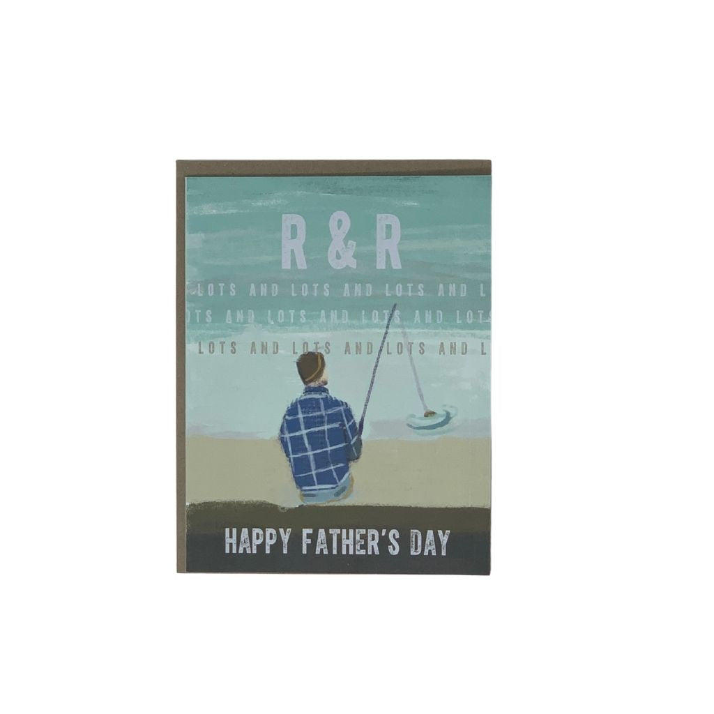 R&R Fishing Father's Day Card