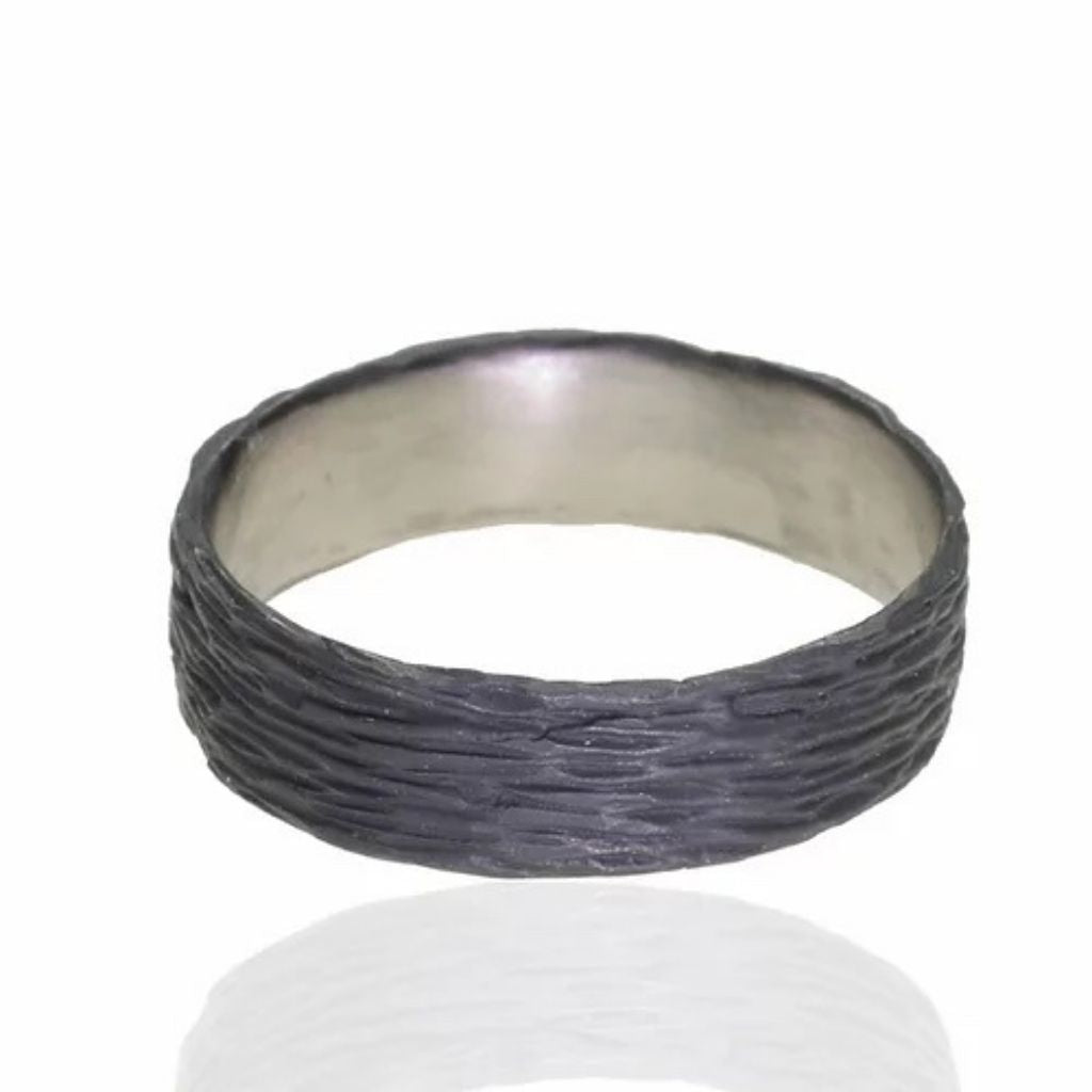 Pebble Wide Band RIng