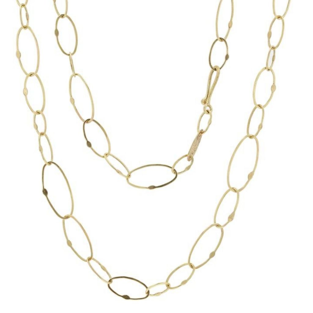 Varied links 18k Gold Necklace